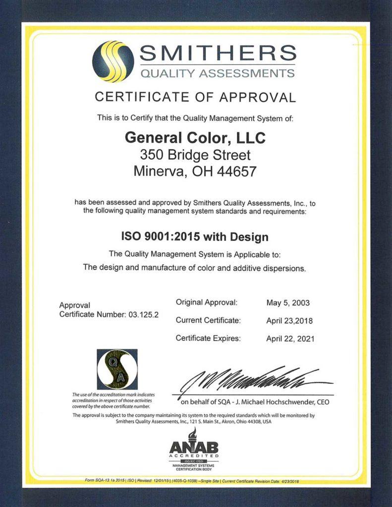 GeneralColor ISO COQM